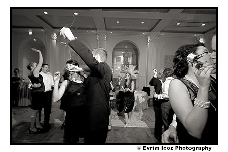 Portland Wedding with Swing Lindy Hop Theme at Art Museum