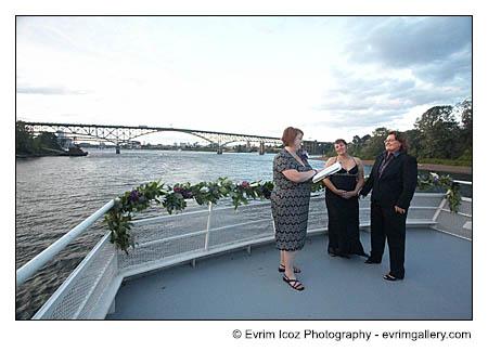 Gay wedding Commitment Ceremony Portland