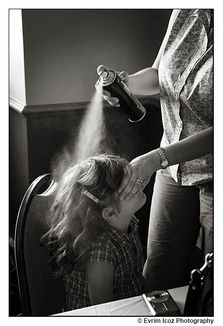 Wedding hairspray