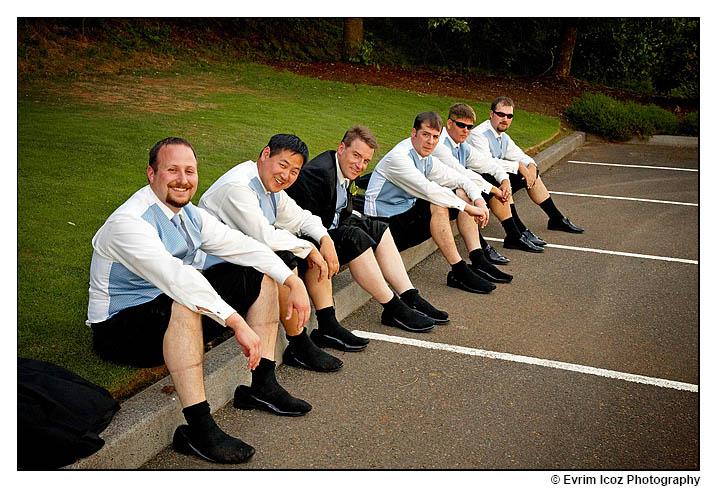 Oregon Golf Club Wedding