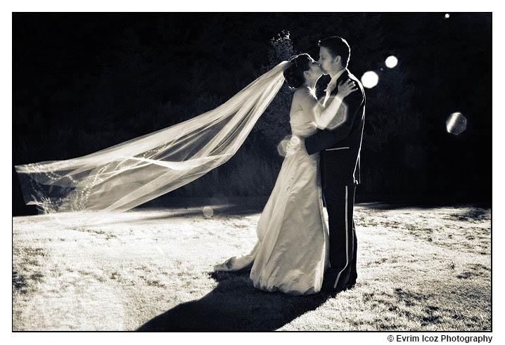 Infrared Wedding Picture Portrait