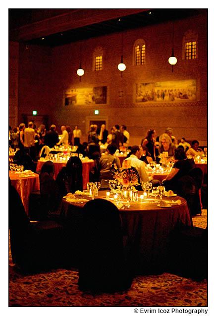 Portland Art Museum Kridel Ballroom Wedding Setting