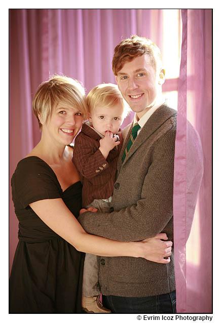 portland baby family headshot portraits