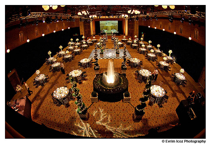 Portland Tiffany Center Event, weddings, Crystal Ballroom