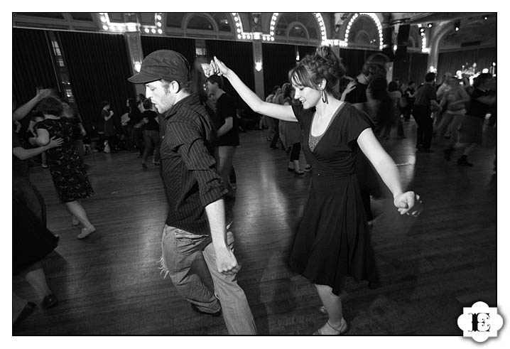 Portland Lindy Exchange 2009 Crystal Ballroom Swing Dance, Lindy Hop, and Blues Dancing