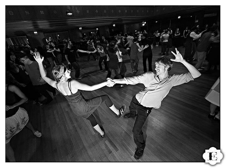 Portland Lindy Exchange 2009 at Portland Tiffany Center Event, Weddings, Crystal Ballroom