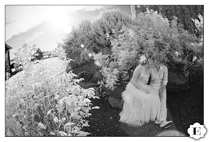 christmas tree farm wedding in Salem, Oregon