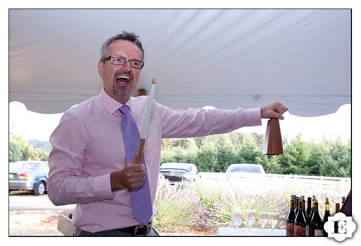 more cowbell at a wedding