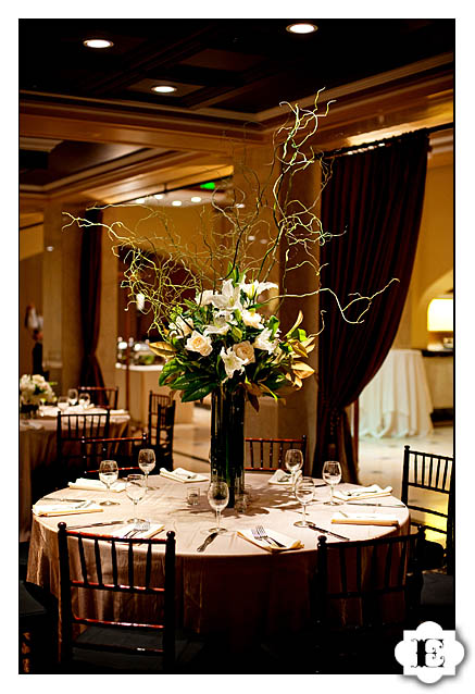 Treasury ballroom rooftop wedding for Ball room decoration