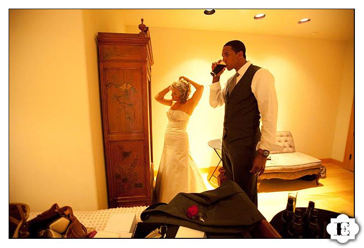 NBA Wedding Channing Frye Wedding