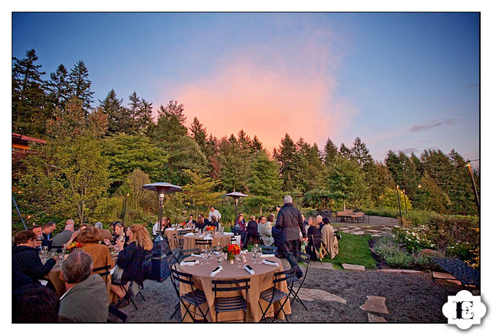 fall garden vineyards wedding