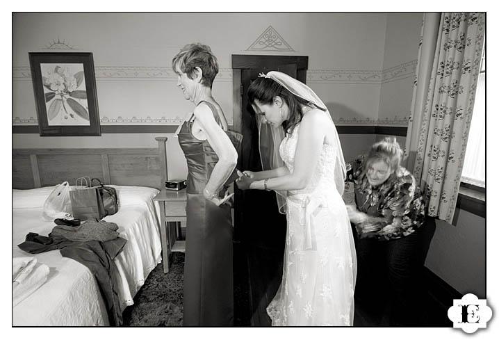 McMenamins Edgefield Attic Wedding