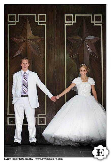 LDS Wedding Photography Portland Temple