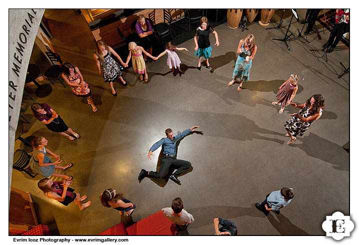 Portland Center Stage Wedding Reception