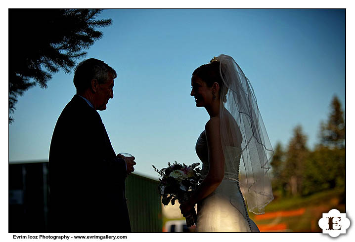 McMenamins Edgefield The Attic Little Red Shed Amphitheater Wedding Reception and Ceremony