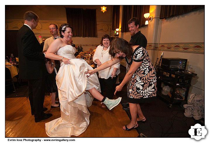 McMenamins Kennedy School Wedding Reception and Ceremony