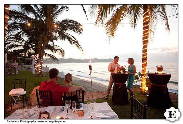 Sayulita Villa De Oro Wedding Calypso Restaurant