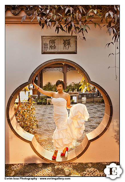 Lan Su Classical Chinese Gardens Wedding