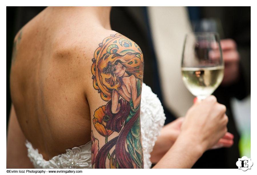 Bride Tattoo