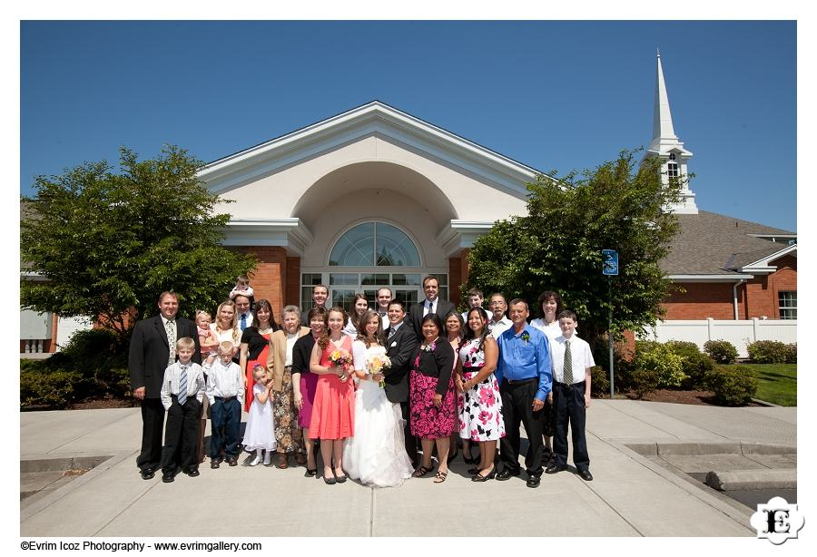 Portland Mormon Wedding