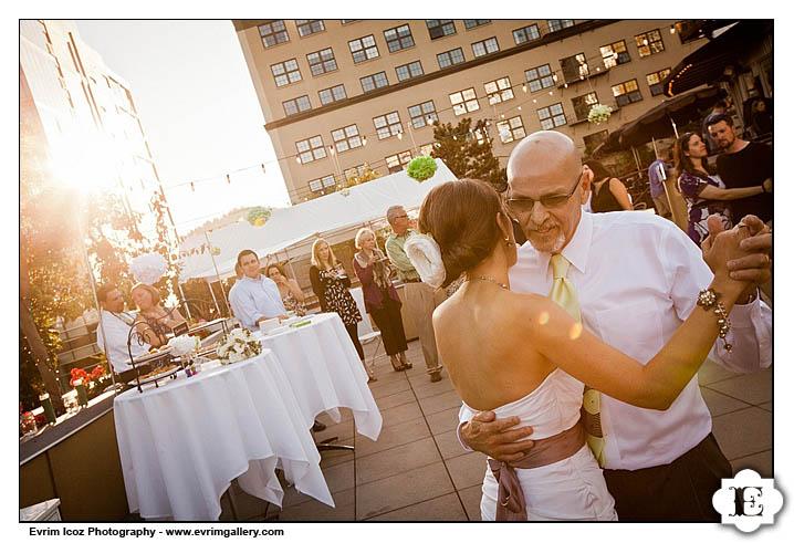 Portland Rooftop Wedding