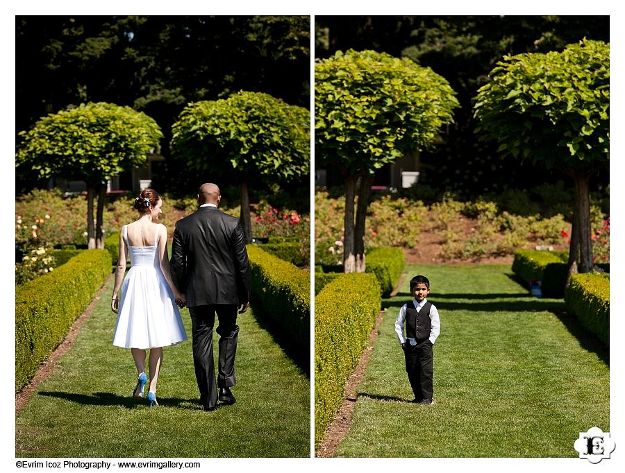 Portland Peninsula Park Wedding