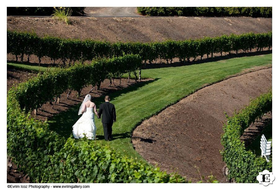 Elk Cove Vineyards wedding