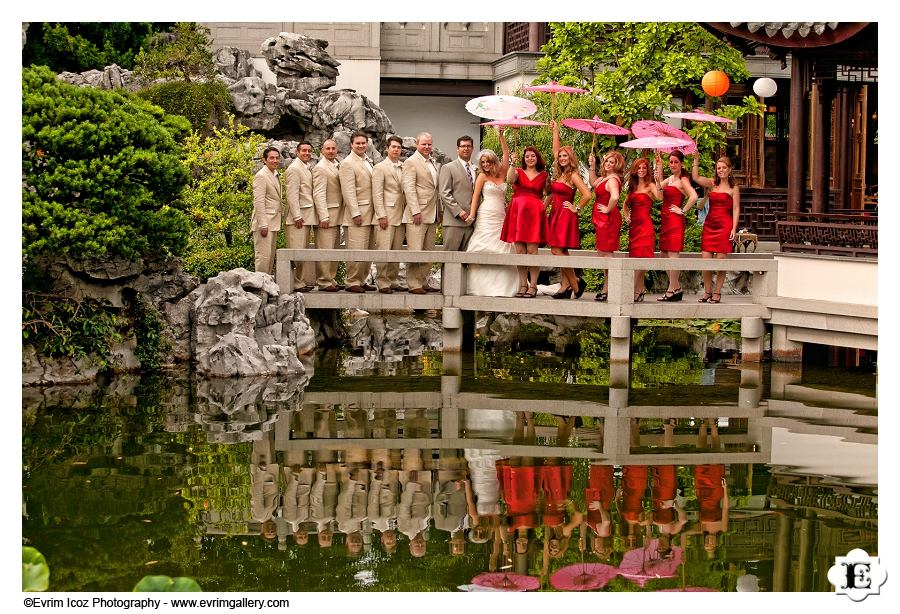 Portland Lan Su Chinese Gardens Wedding