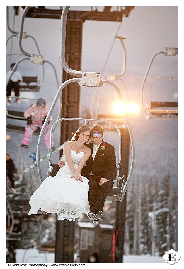 Wedding at Timberline Lodge