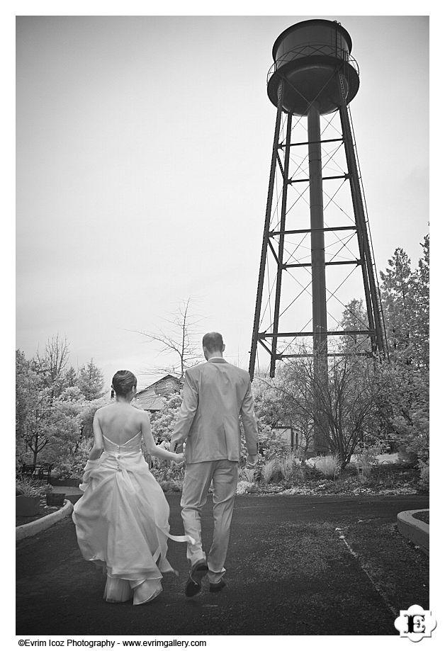McMenamins Edgefield Winter Wedding