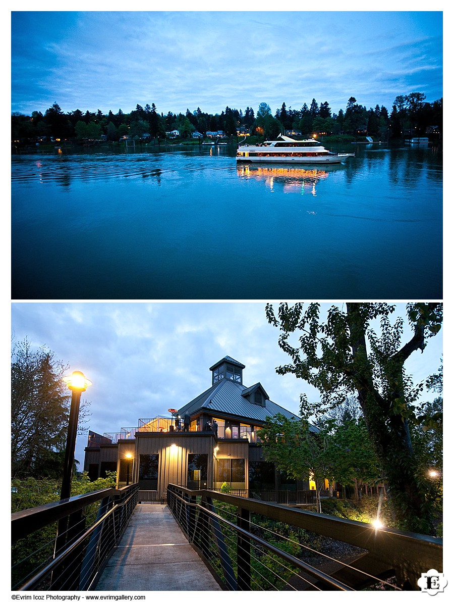 The Foundry at Lake Oswego at Night!