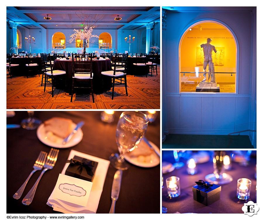 Wedding at Portland Art Museum Sunken Ballroom