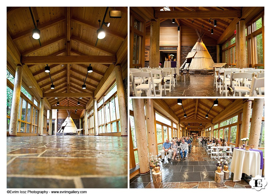 High Desert Museum indoor ceremony location