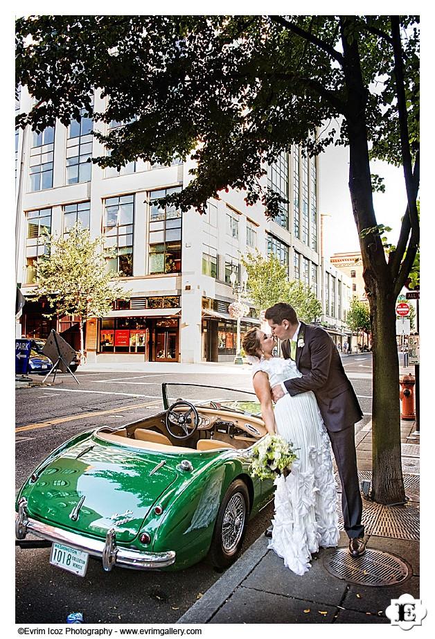 Blue Hour Bluehour Portland Restaurant Wedding