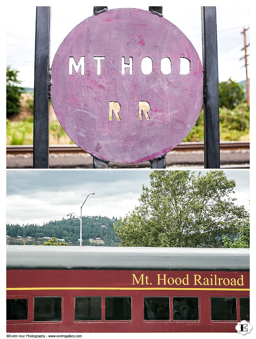 Mt. Hood Rail Road Wedding