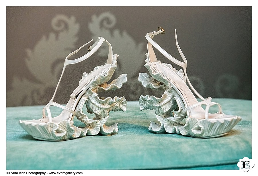 Unique Wedding Shoes Merengue Ceramic