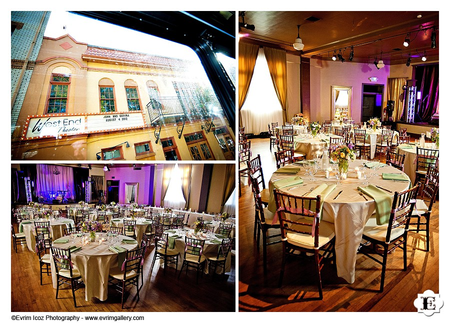 Portland West End Ballroom Theater Wedding