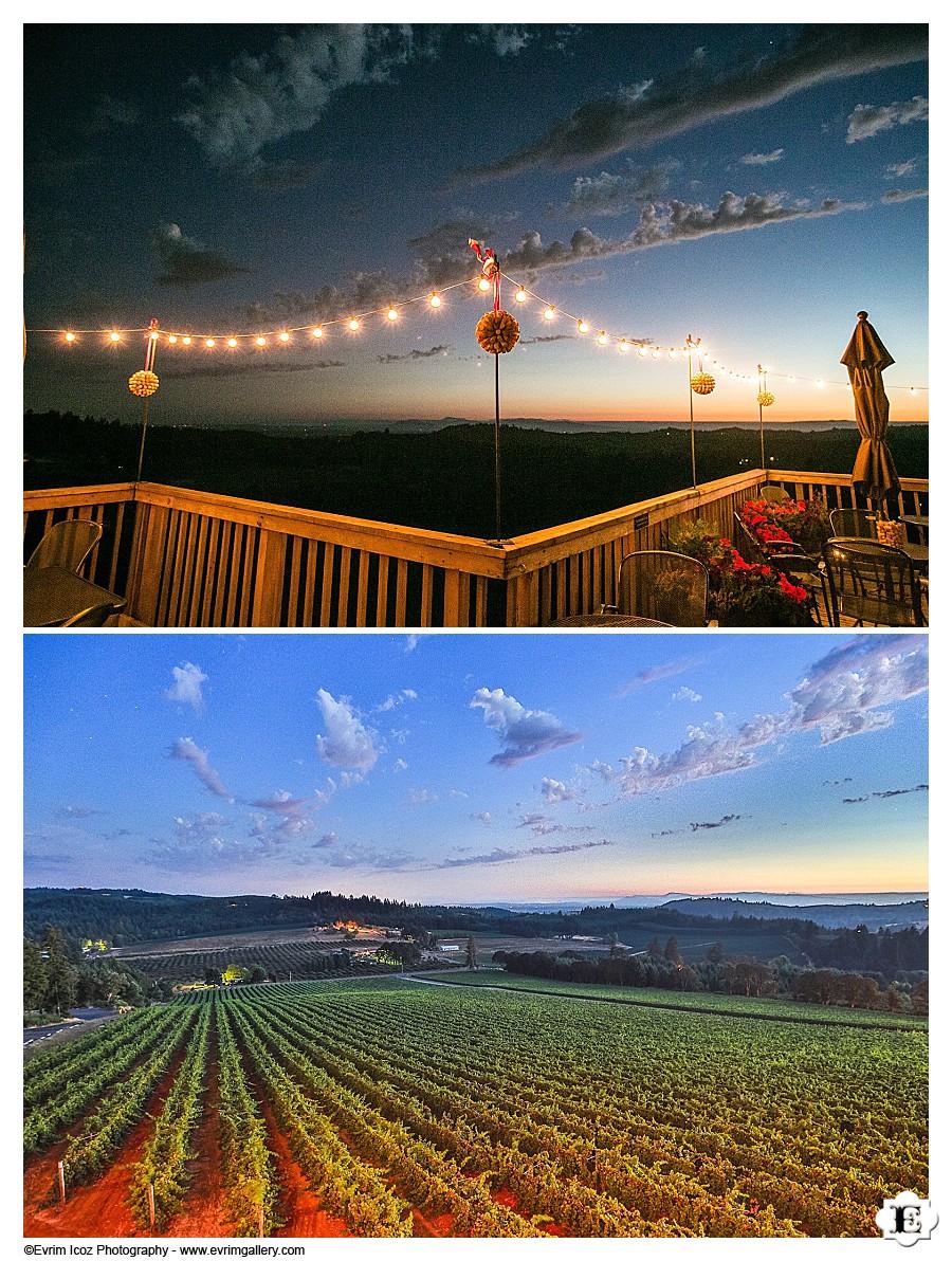 Wedding at Willamette Valley Vineyards