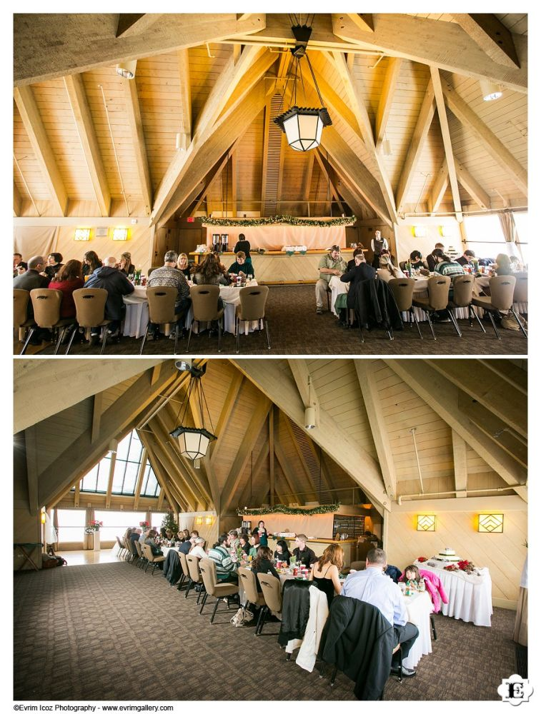 Winter Wedding at Timberline Lodge