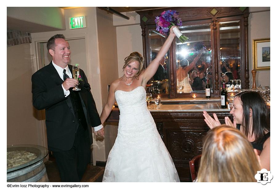 Pazzo Restaurant Wine Cellar Wedding