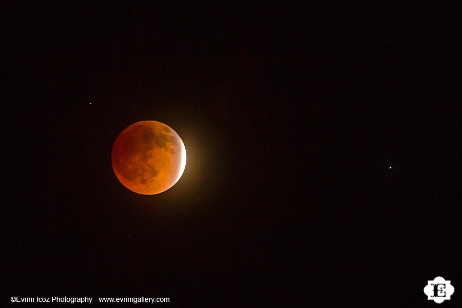 Lunar Eclipse Blood Moon Portland Oregon
