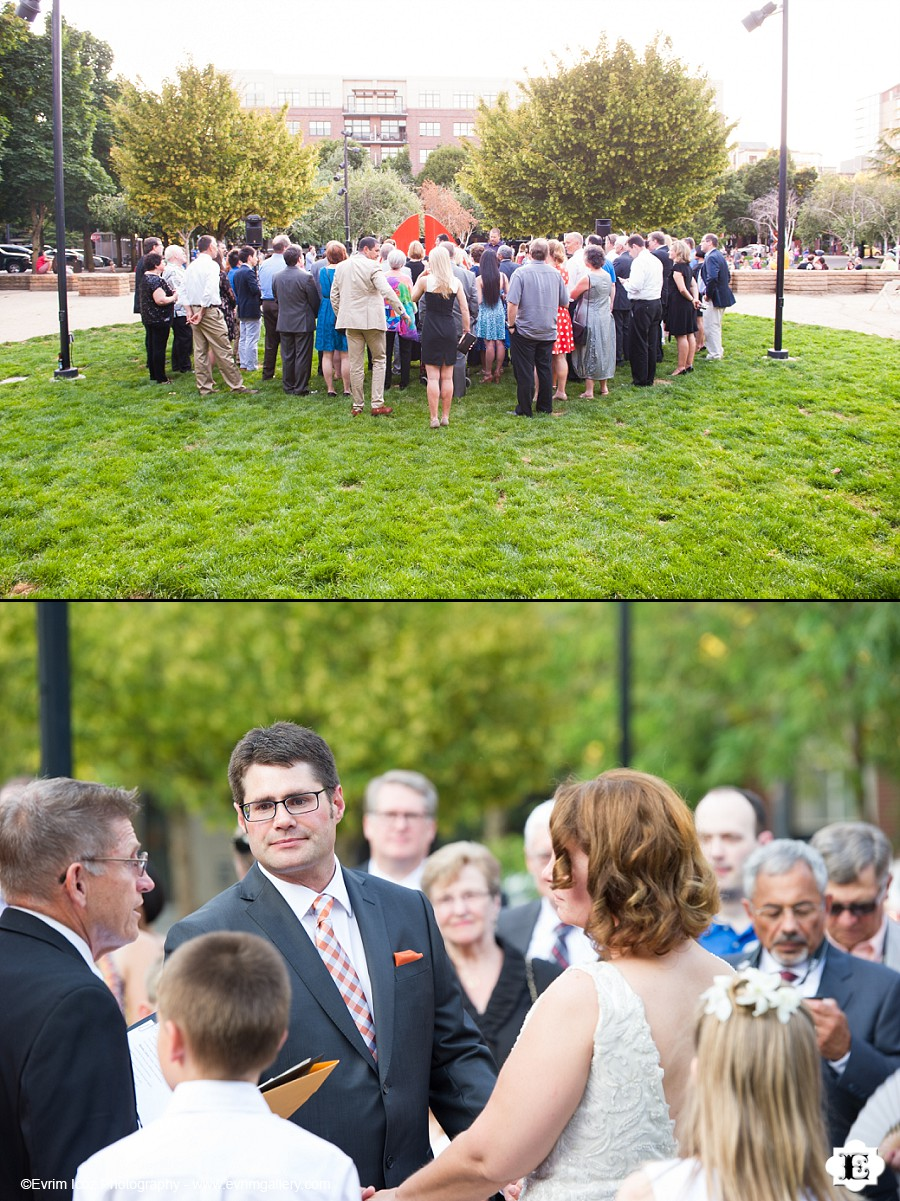 Jamison Square Restaurant Wedding