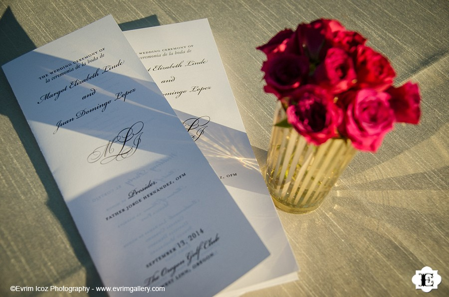 The Oregon Golf Club Wedding