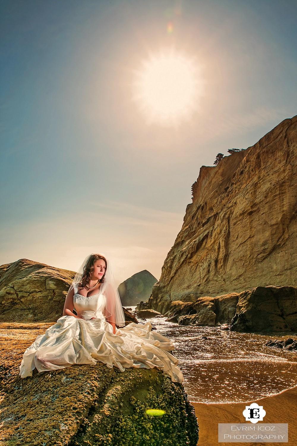 Pacific city wedding