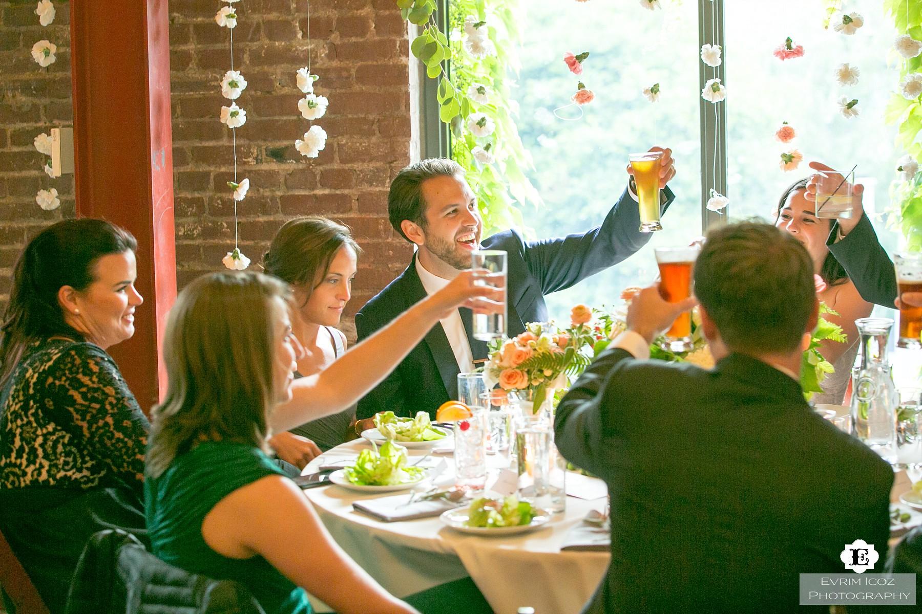 Ecotrust Building Rooftop Wedding in Portland, Oregon