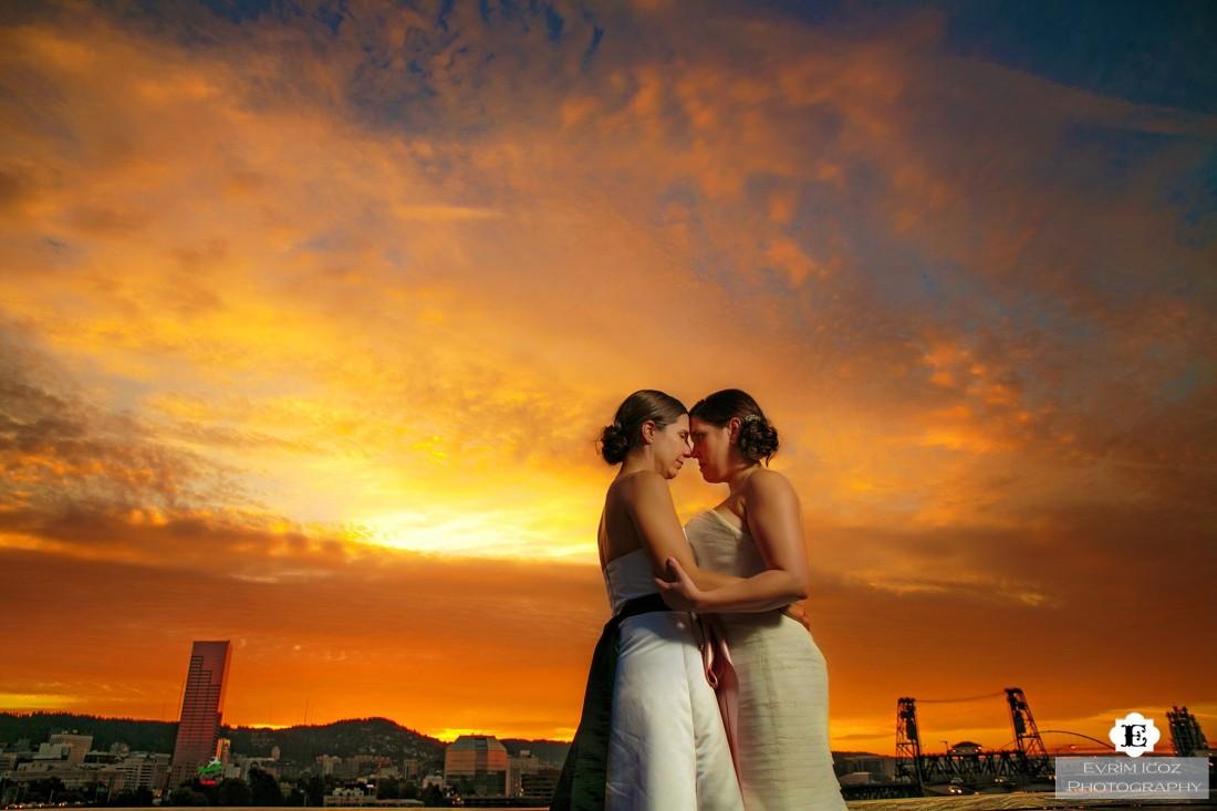 Exchange Ballroom Rooftop Wedding