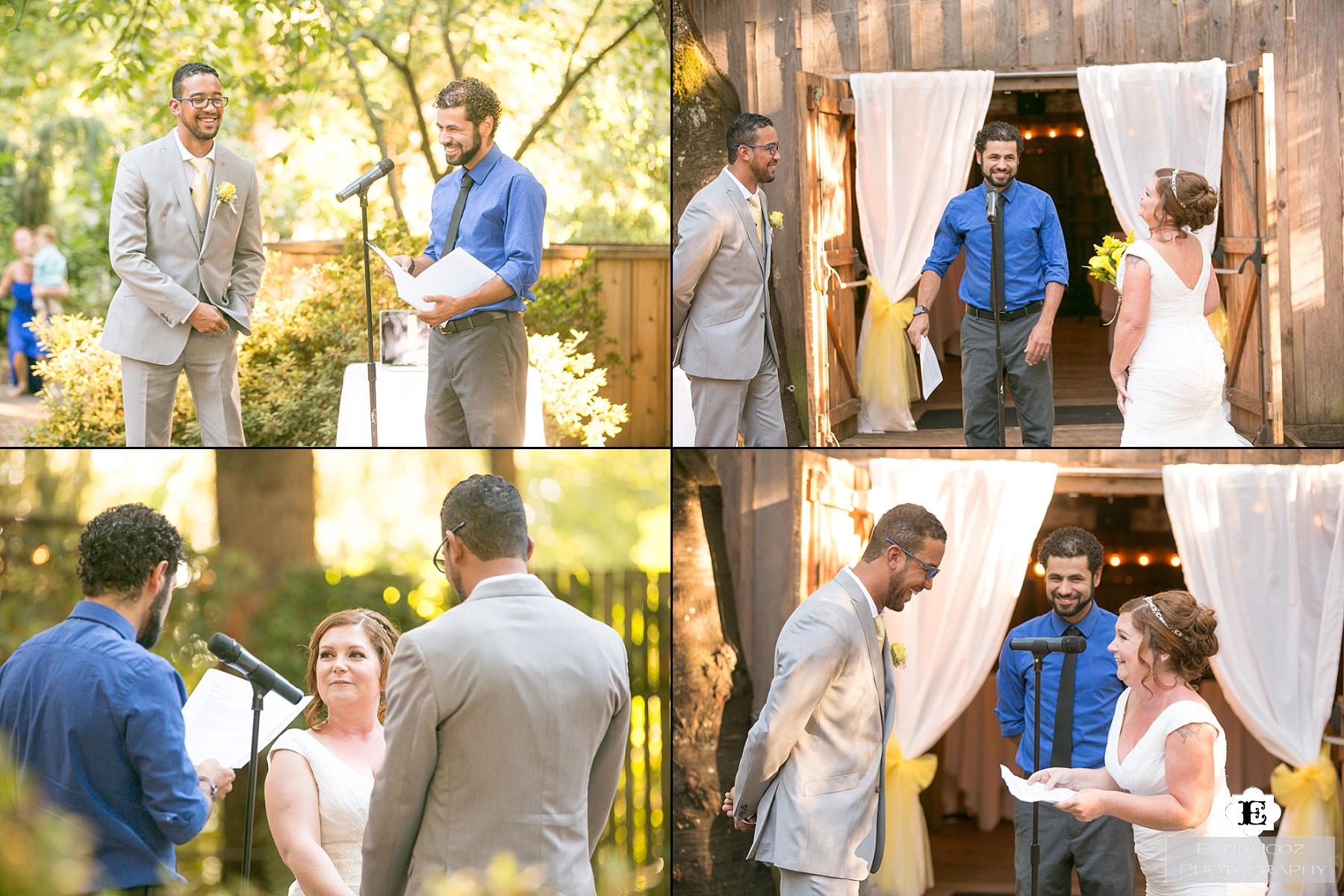 Cornelius Pass Roadhouse Wedding