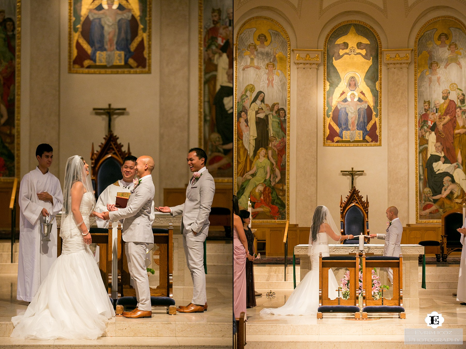 St Mary's Cathedral Wedding in Portland