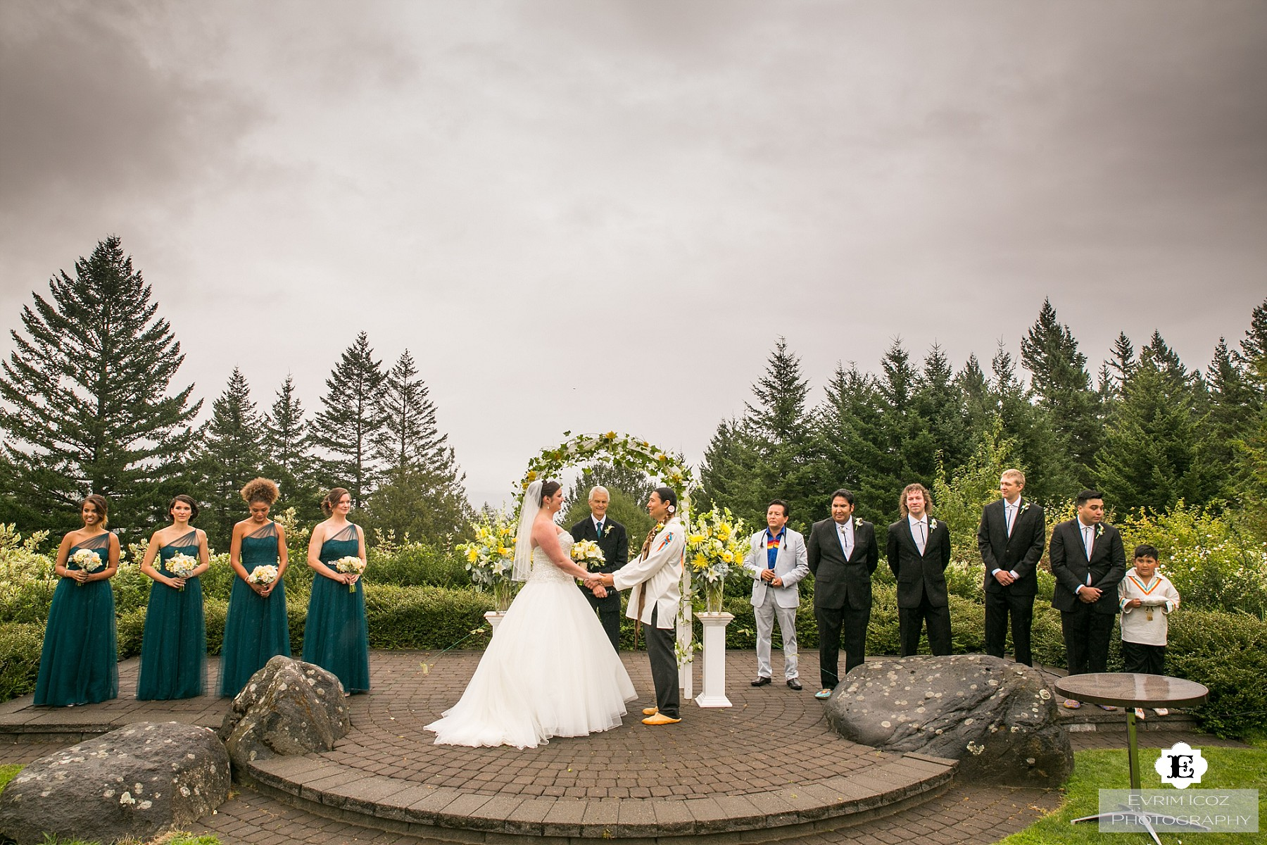 Skamania Lodge Native American Wedding