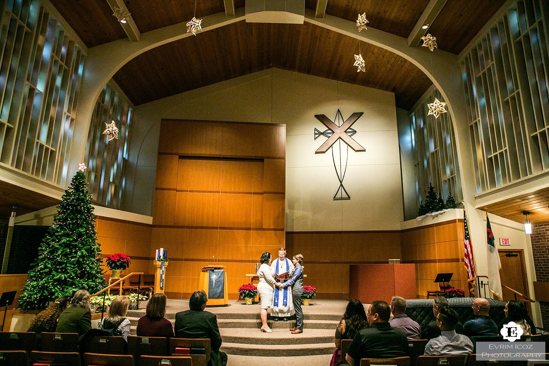 St Andrew's Presbyterian Church Wedding Portland